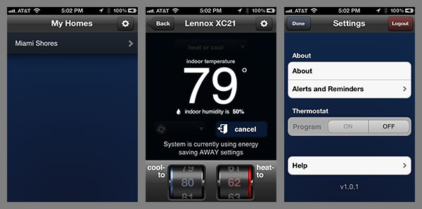 Review Lennox Icomfort Wi Fi Thermostat Sonos For Air
